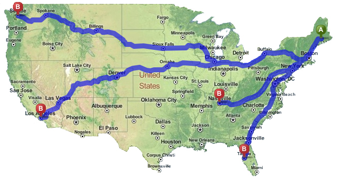 Image result for long distance movers MAP